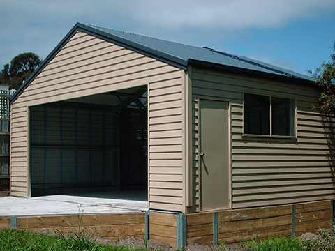 colorbond shed