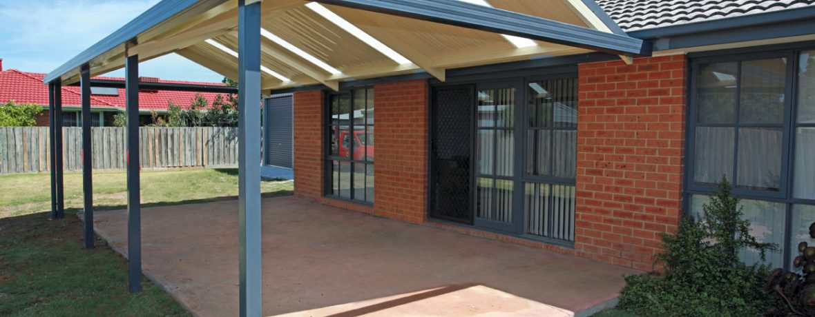 sunset sheeting gable verandah fascia connection